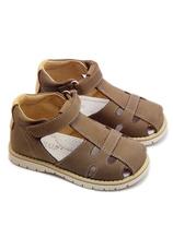 Sandalete piele Avus Cafeniu