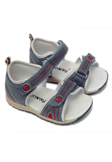 Sandale piele Sunway Gri