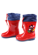 Mickey® Cizme cauciuc Rosu
