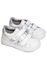 Hokide® Pantofi sport piele Alb 316