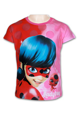 Miraculous® Tricou Fuxia Print
